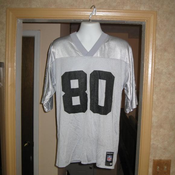 new product 9dfa2 3afeb VTG Reebok NFL Jerry Rice Oakland Raiders Jersey